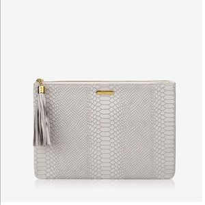 Dove Grey Gigi New York Clutch